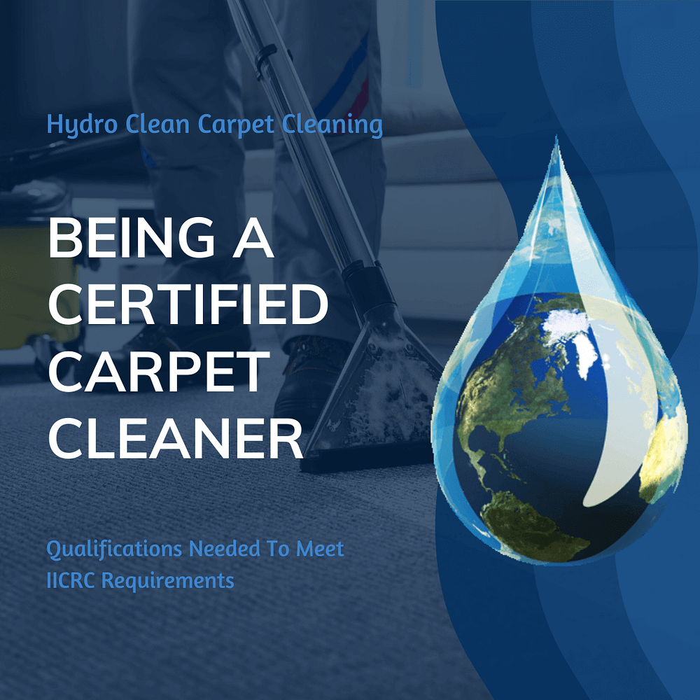 featured image being a certified carpet cleaner