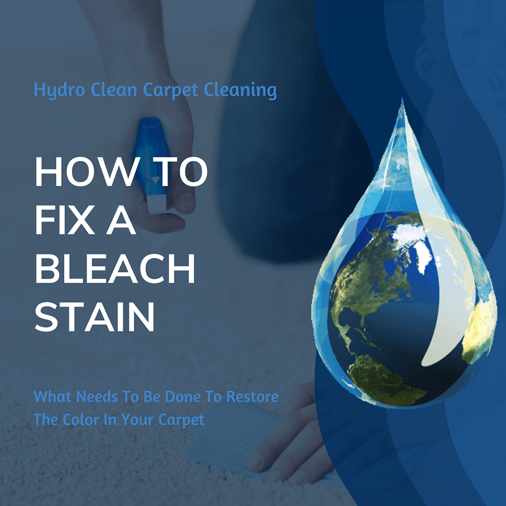 featured image how to fix a bleach stain