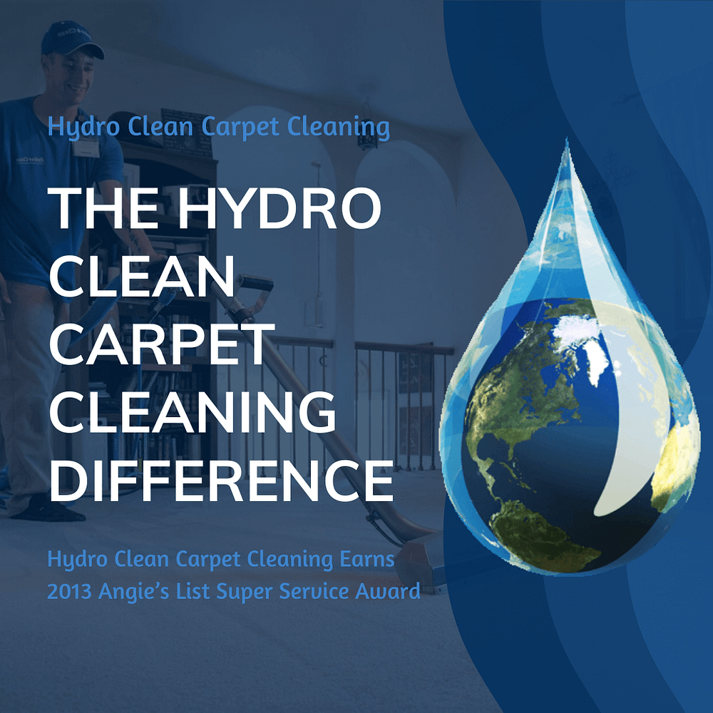 featured image the hydro clean carpet cleaning difference