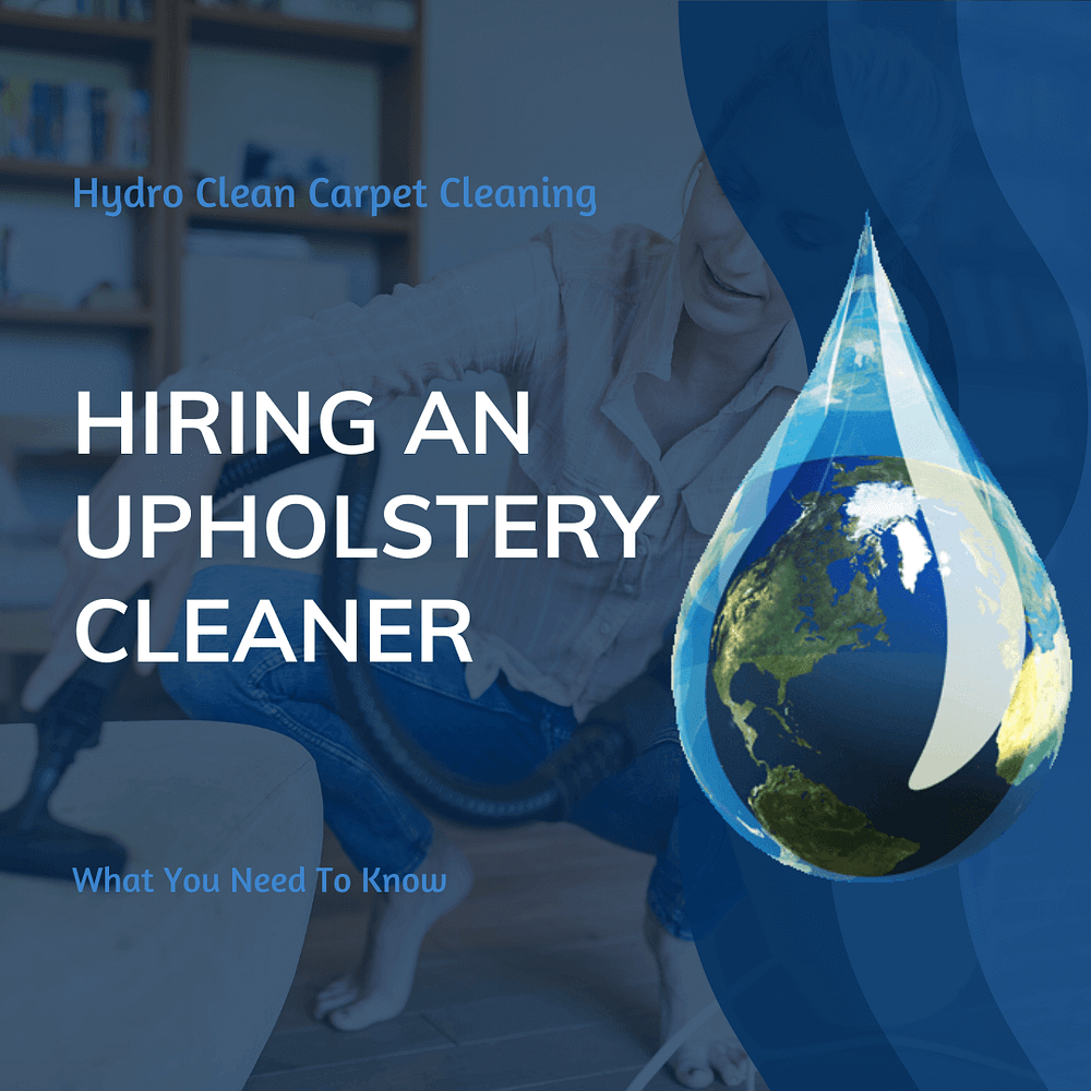 featured image hiring an upholstery cleaner