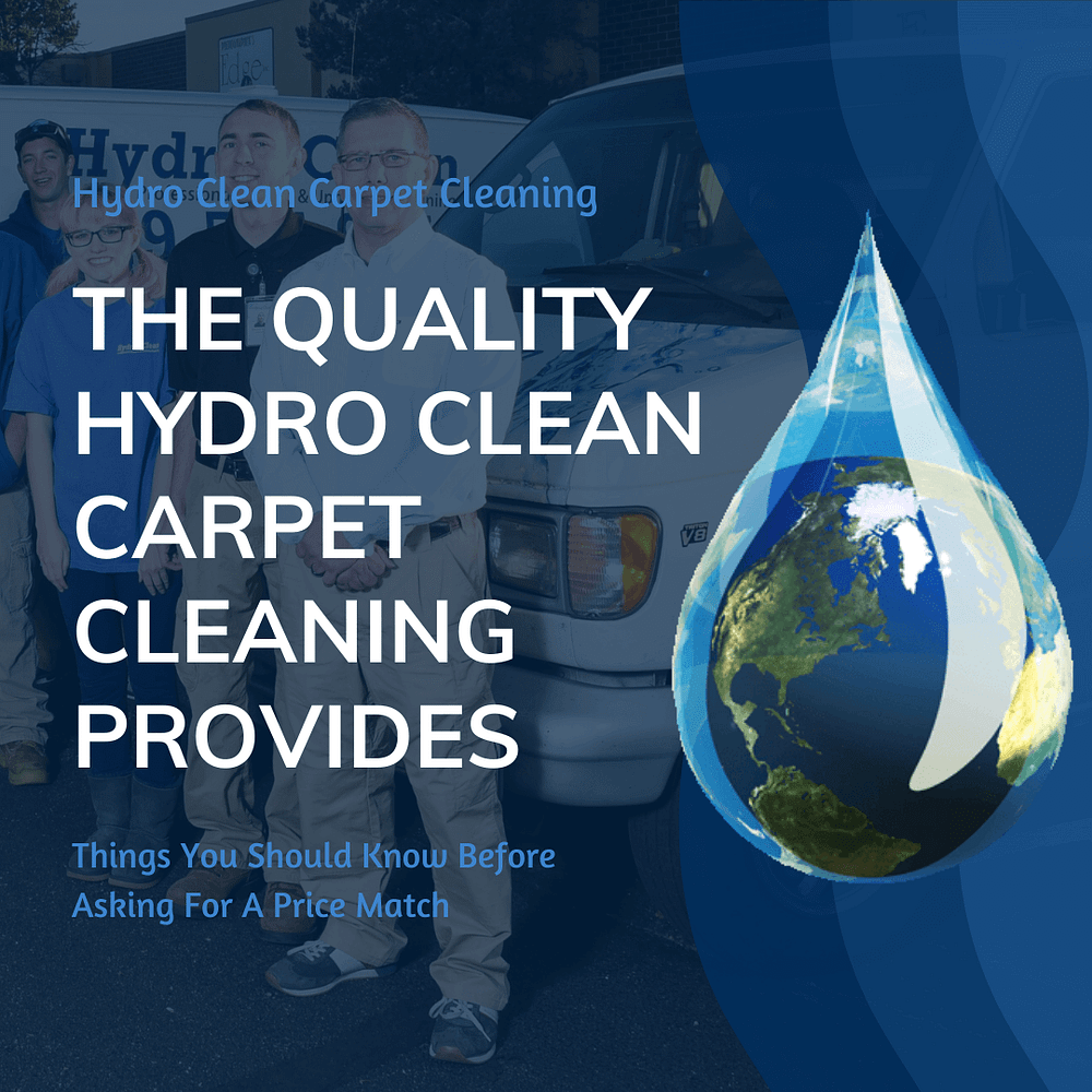 featured image the quality hydro clean carpet cleaning provides