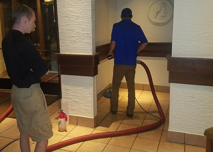 Commercial tile cleaning in Colorado Springs